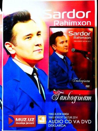Sardor Rahimxon audio va video albomlarini sotuvga chiqardi