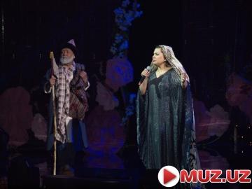 Yulduz Usmonova konsert dasturidan
